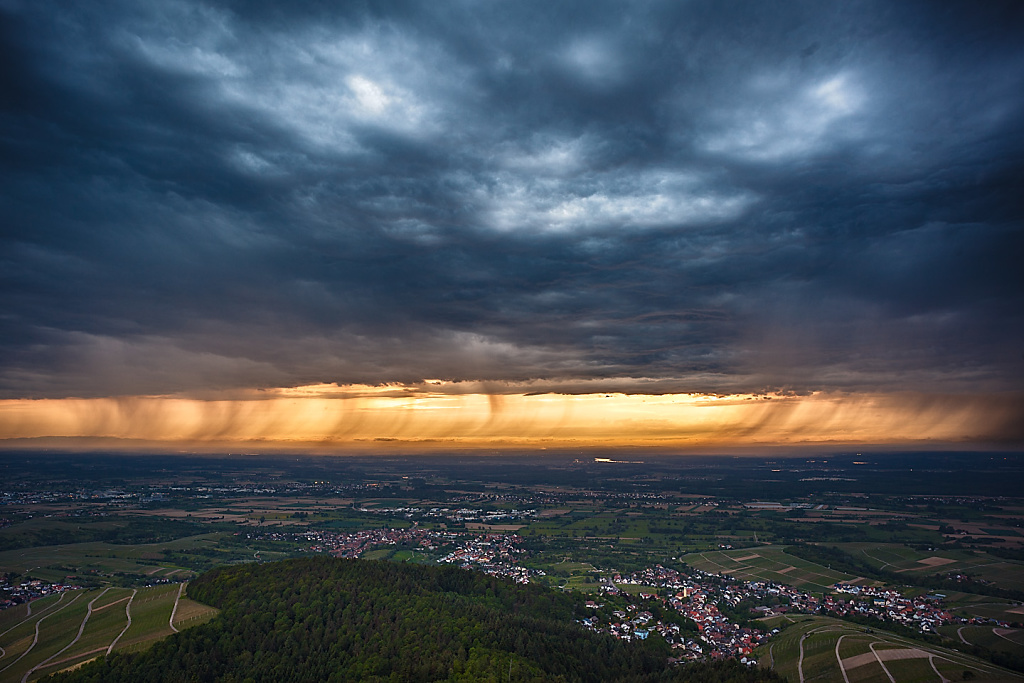 Upper Rhine Valley Rainfront